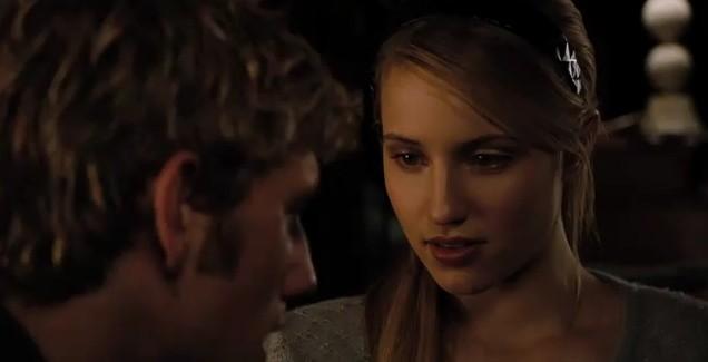 Alex Pettyfer e Dianna Agron nel film Sono il numero quattro