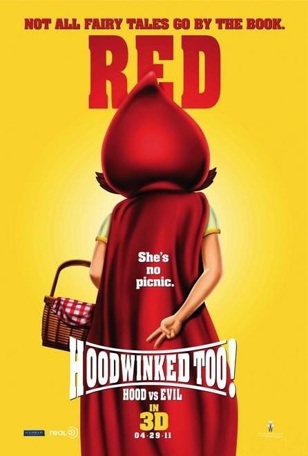 Character poster per Hoodwinked 2: Hood vs. Evil - Red