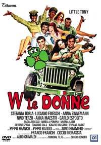 La copertina di W le donne (dvd)