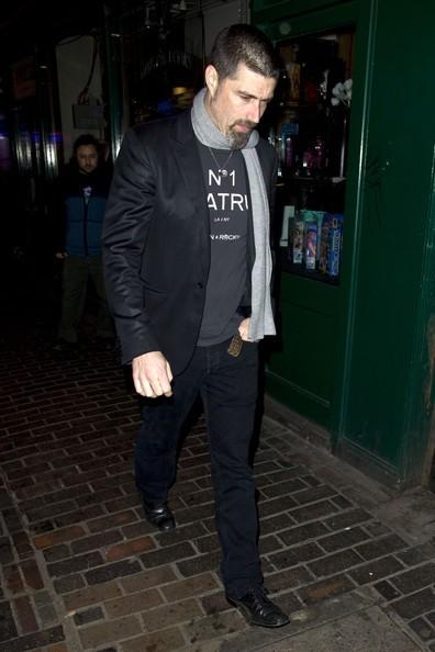Matthew Fox dopo aver partecipato a una festa di pre-BAFTA a Londra