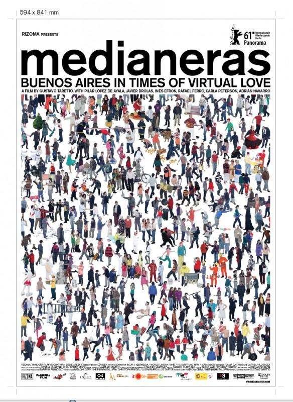 La locandina di Medianeras - Innamorarsi a Buenos Aires