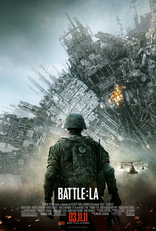 Nuova inquietante locandina di World Invasion: Battle Los Angeles