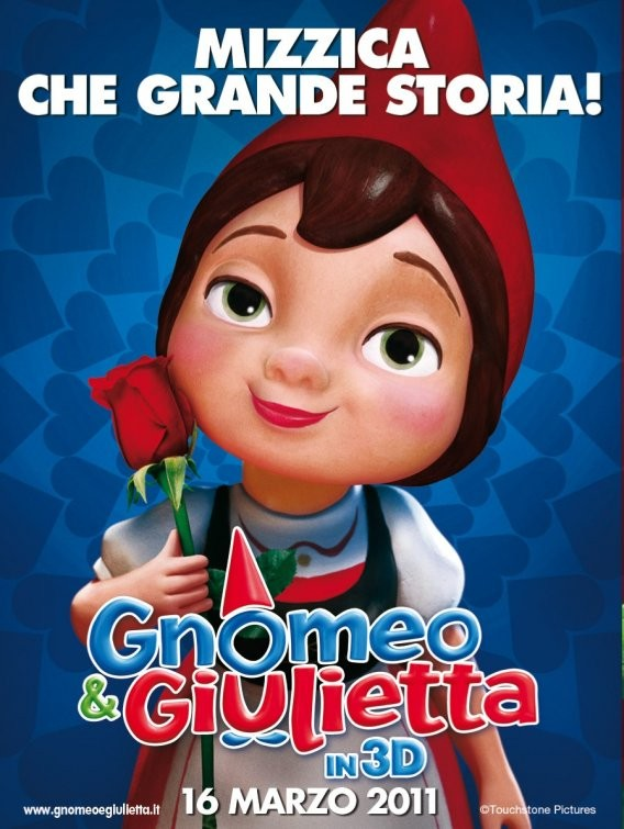Character poster italiano 2 per Gnomeo and Juliet
