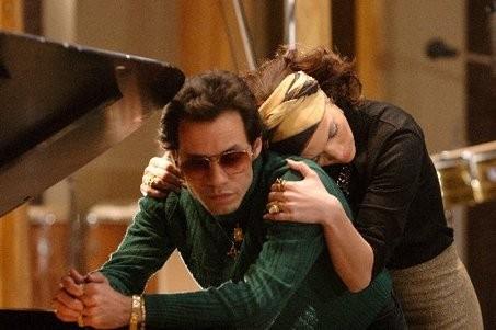 Jennifer Lopez e Marc Anthony insieme nel film El Cantante