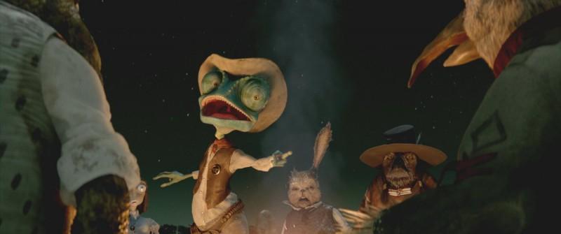 Una sequenza esilarante del film Rango