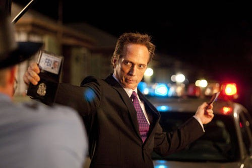 William Fichtner, agente FBI in Drive Angry