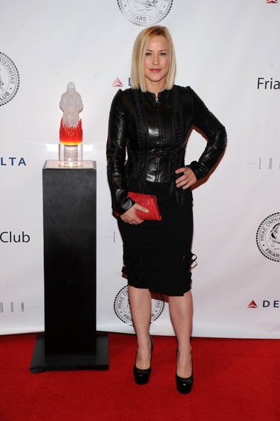 Patricia Arquette in occasione del Friars Club Roast di Quentin Tarantino