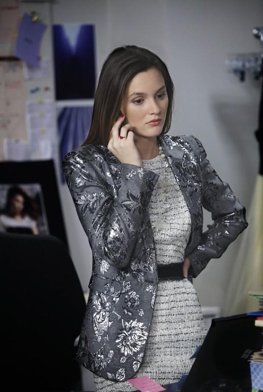 Blair (Leighton Meester) in un momento dell'episodio While You Weren't Sleeping di Gossip Girl