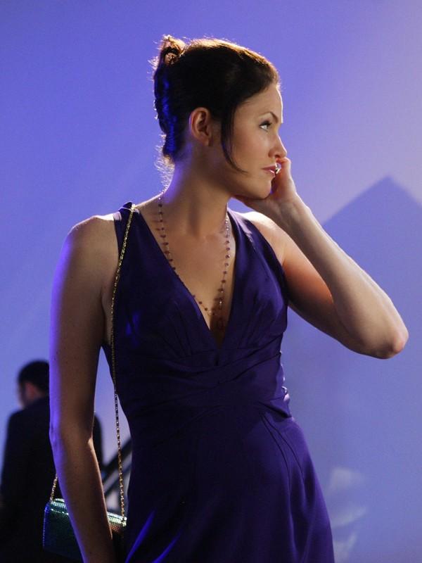 Sara Sidle (Jorja Fox) nell'episodio The Two Mrs. Grissoms di CSI: Scena del crimine
