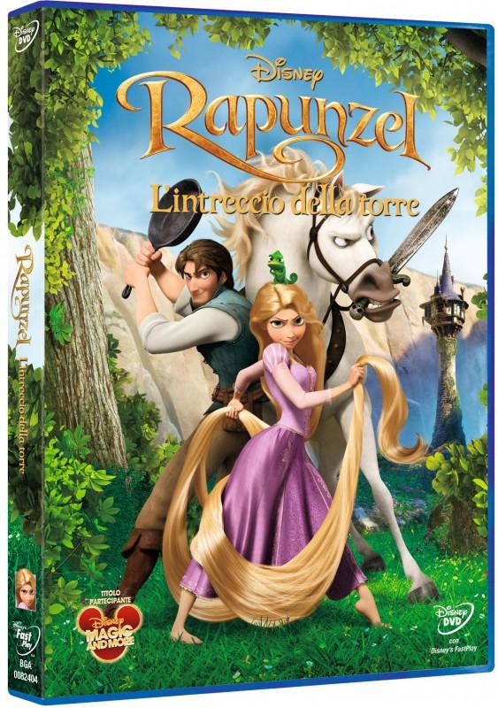 La copertina di Rapunzel - L'intreccio della torre (dvd)