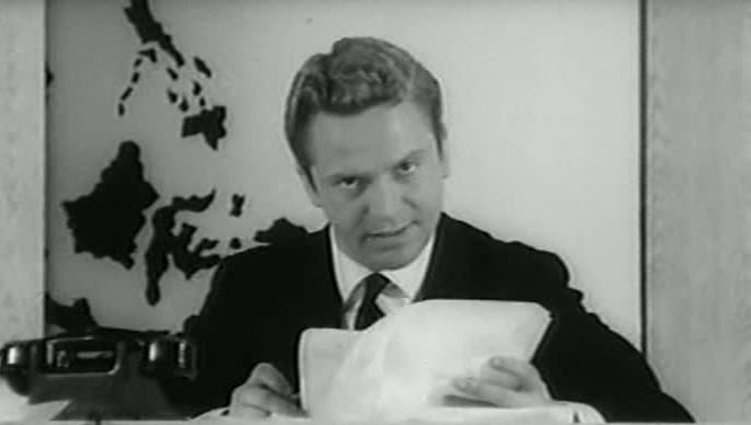 Alighiero Noschese giornalista in Scanzonatissimo
