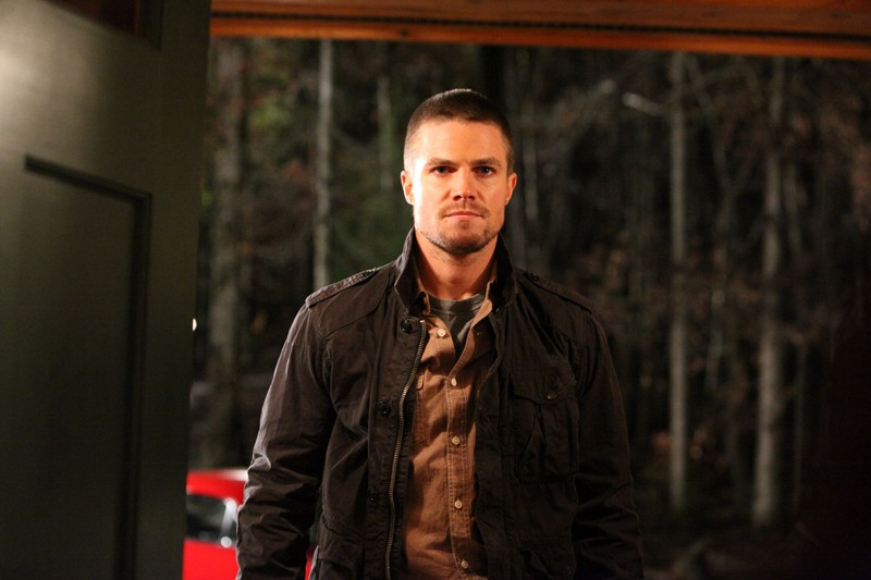 Brady (Stephen Amell) nell'episodio Crying Wolf di Vampire Diaries
