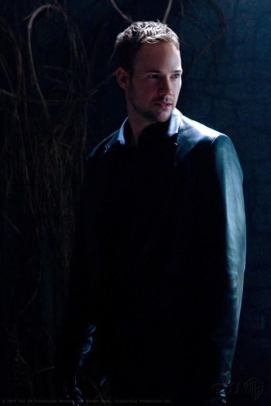 Desaad (Steve Byers) in una scena dell'episodio Masquerade di Smallville