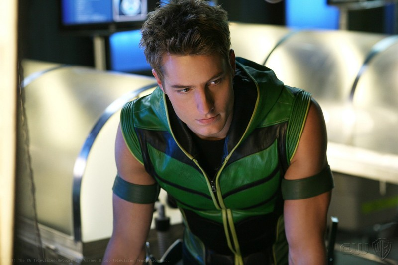 Freccia Verde (Justin Hartley) nell'episodio Collateral di Smallville