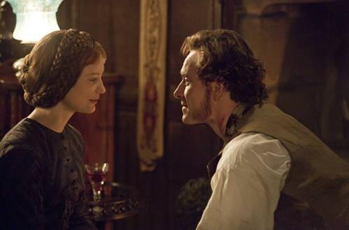 Mia Wasikowska e Michael Fassbender, protagonisti di Jane Eyre