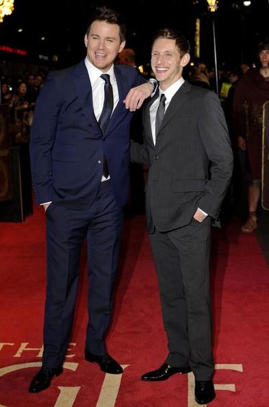 Channing Tatum e Jamie Bell sul Red Carpet in occasione della premiere di The Eagle a Londra