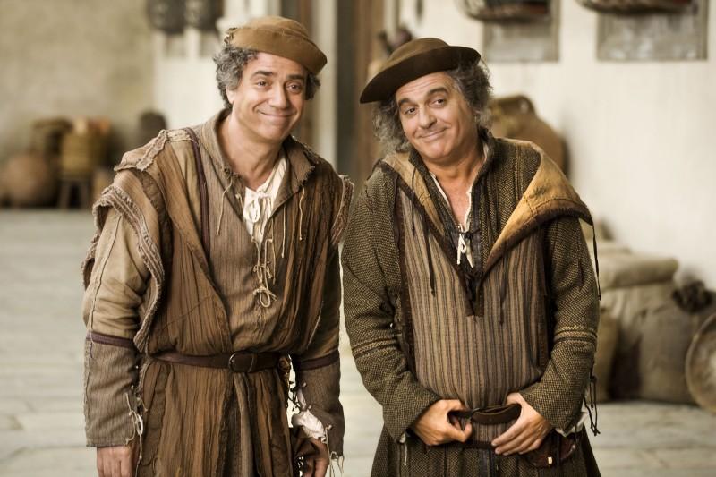 Massimo Ghini e Giorgio Panariello nel film Amici miei - come tutto ebbe inizio