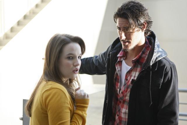 Kay Panabaker ed Eric Balfour nell'episodio No Ordinary Animal di No Ordinary Family
