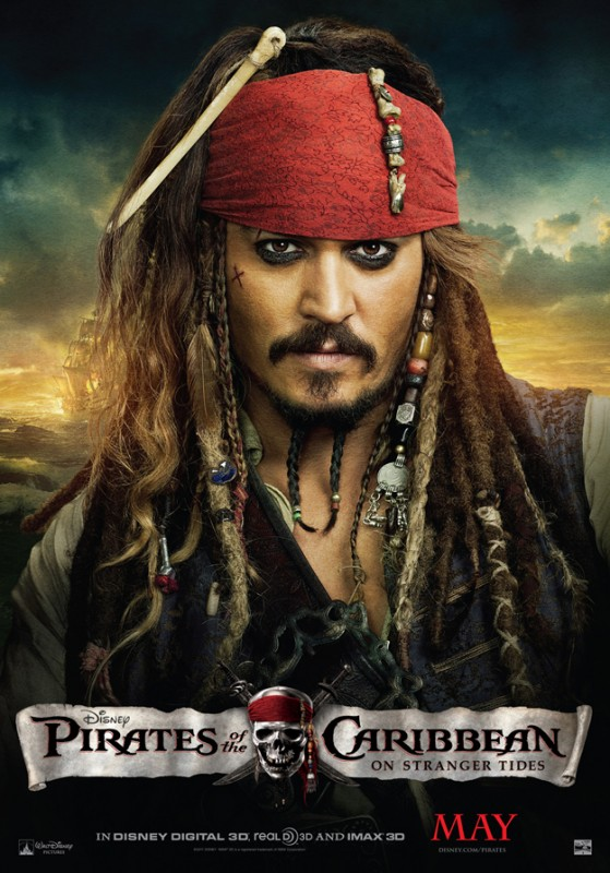 Nuovo poster di Pirati dei Caraibi: Oltre i confini del mare dedicato a Johnny Depp