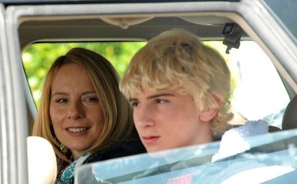 Amy Ryan con Alex Shaffer nel film Win Win