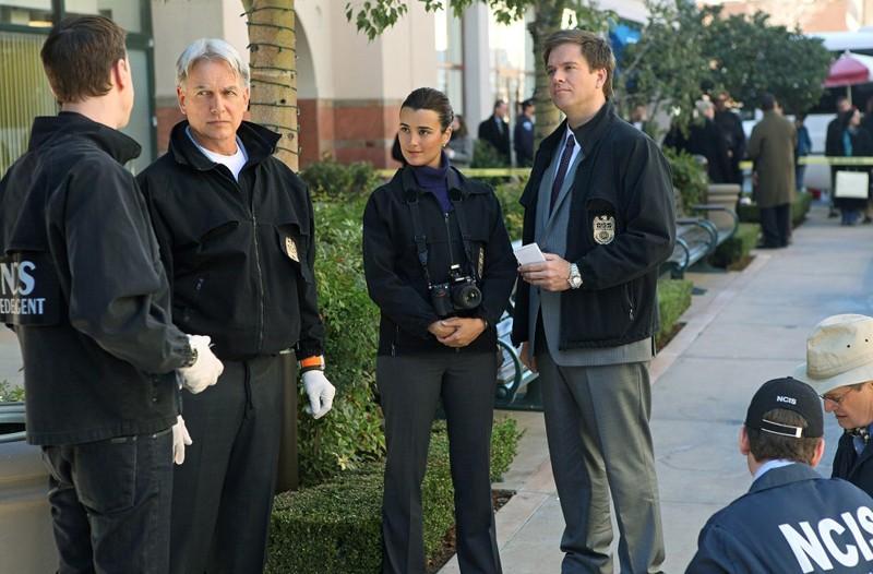 La squadra in una sequenza dell'episodio Kill Screen di NCIS