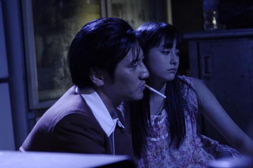 Saori Hara in una scena del film The Citizen Police 69