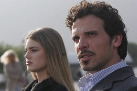 Vanessa Hessler e Francesco Montanari nel thriller Sotto il vestito niente - L'ultima sfilata