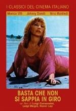 La copertina di Basta che non si sappia in giro (dvd)