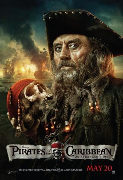 Poster di Barbanera, villain di Pirati dei Caraibi: Oltre i confini del mare