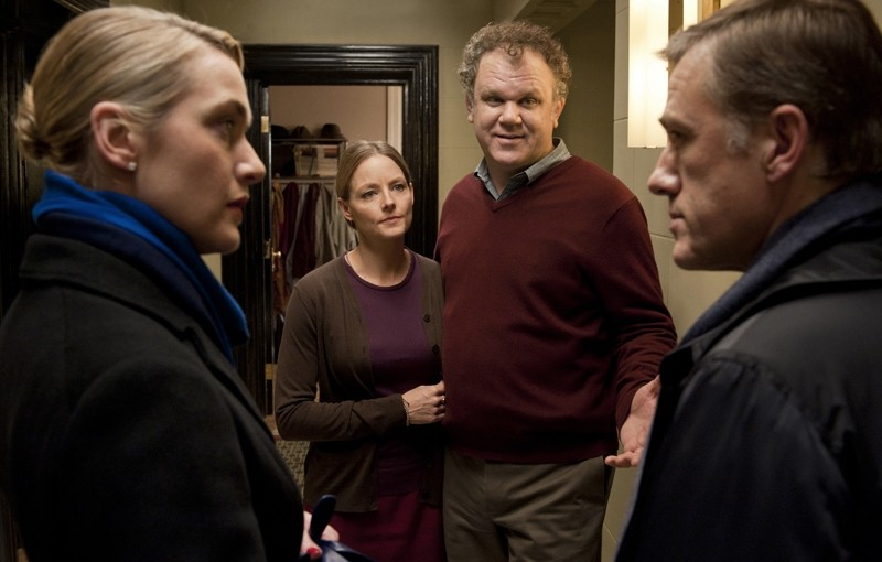 Christoph Waltz, Jodie Foster, John C. Reilly e Kate Winslet, star di God of Carnage