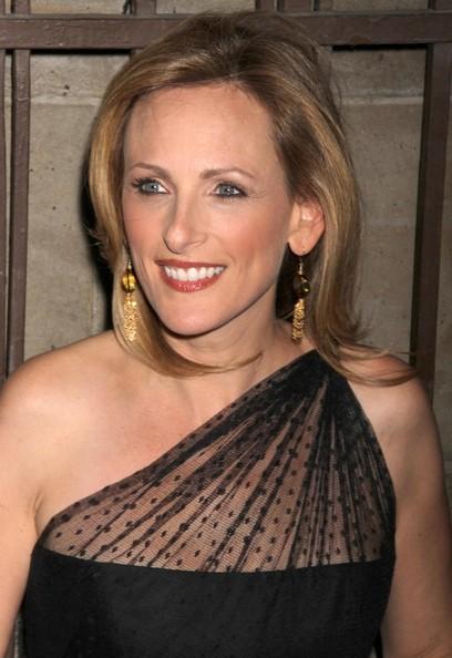 La bella Marlee Matlin a New York, nel 2010