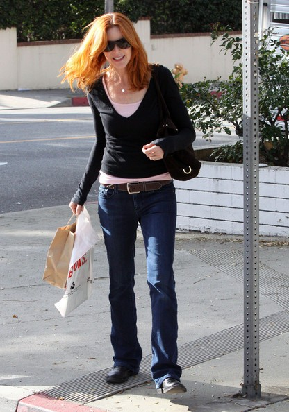 Marcia Cross fa shopping a Brentwood