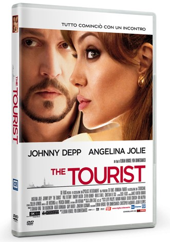 La copertina di The Tourist (dvd)