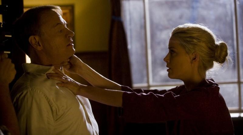 Jared Harris e Amber Heard in una scena di The Ward