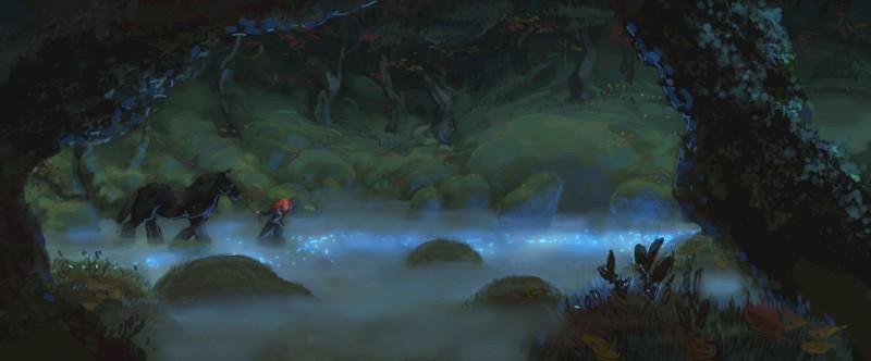Brave, una delle prime immagini del film realizzato dalla Pixar