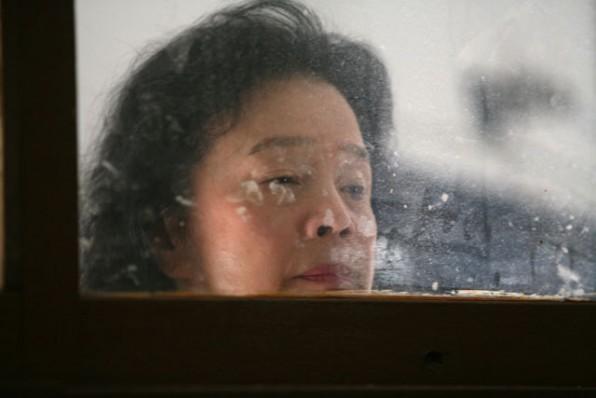 Yoon Hee-Jeong in una immagine del dramma Poetry