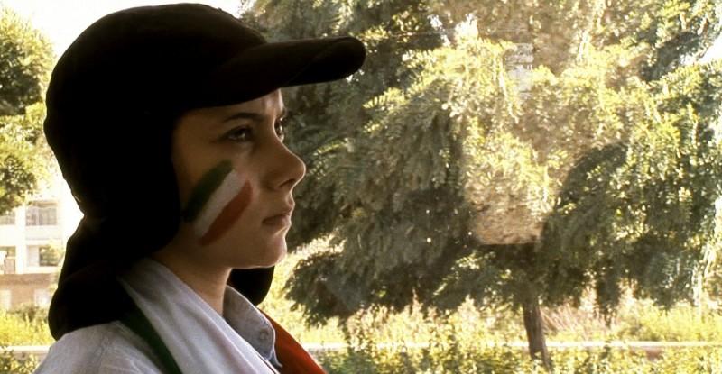 Sima Mobarak Shahi nel film Offside