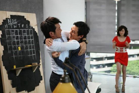 Daniel Wu e Louis Koo nel film Don't Go Breaking My Heart