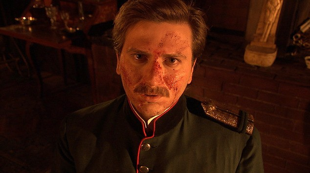 Daniele Savoca nel film Rasputin