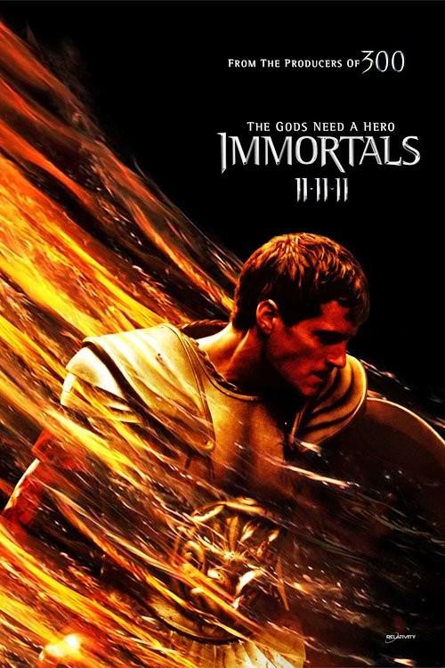 Primo Character Poster per Immortals