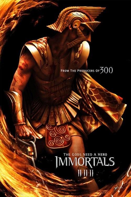 Secondo Character Poster per Immortals (Luke Evans)