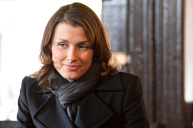 Bridget Moynahan in una scena dell'episodio To Tell The Truth di Blue Bloods