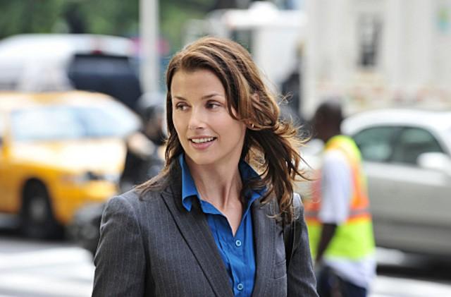 Bridget Moynahan nell'episodio Samaritan di Blue Bloods