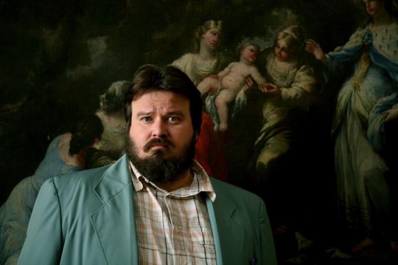Giuseppe Battiston nel film Senza arte né parte, del 2011