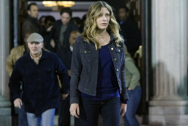 Sarah Roemer nell'episodio Face Off di The Event