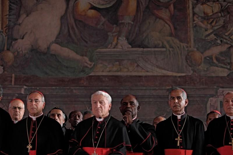 Una scena di Habemus Papam di Nanni Moretti