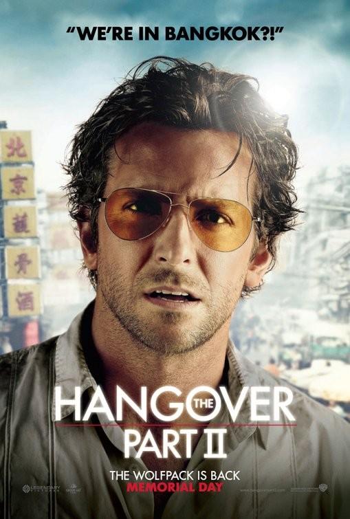 Character Poster USA per Una notte da leoni 2 - Bradley Cooper