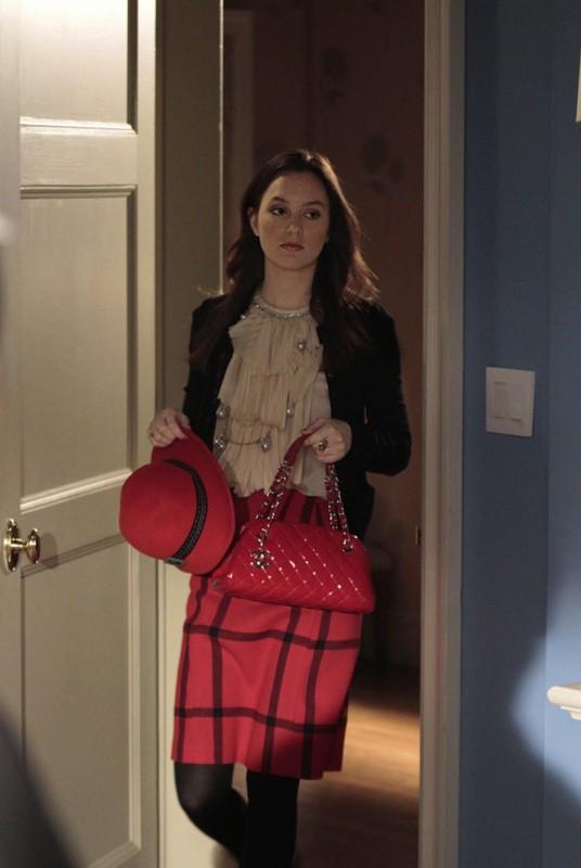 Blair (Leighton Meester) nell'episodio Empire Of The Son di Gossip Girl