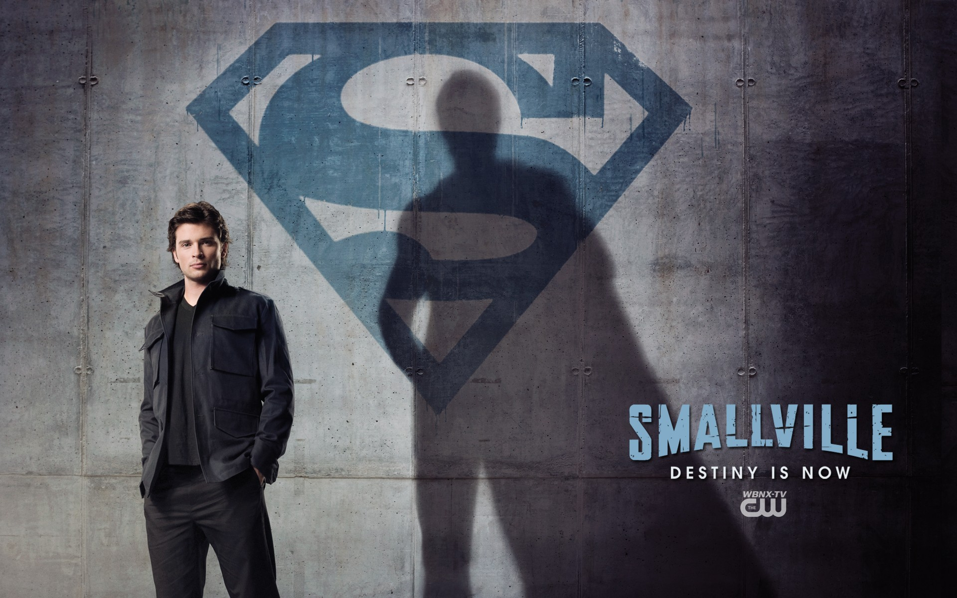 Un wallpaper con Tom Welling per la season finale di Smallville