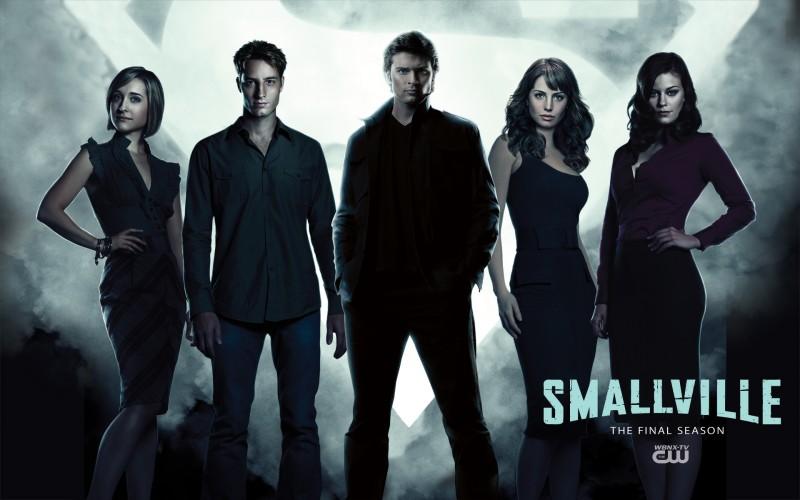 Un wallpaper di gruppo per la season finale di Smallville